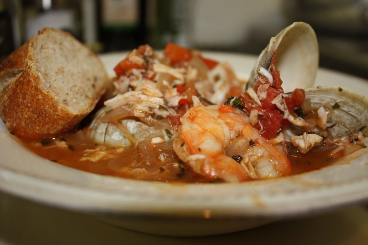 A Warm Welcome: Cioppino