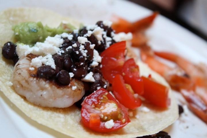 Summer Baja Tacos