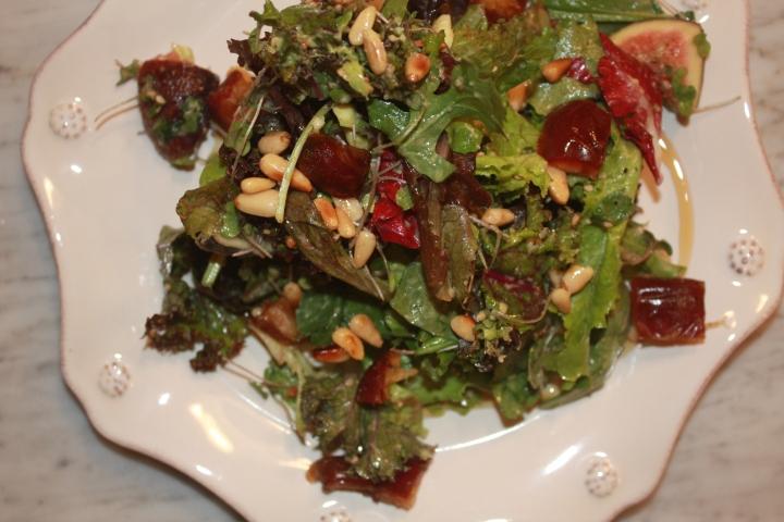 Winter Salad: Figs, Dates +Argan.