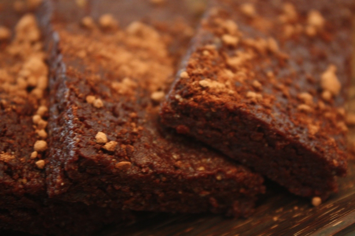 Raw Cacao Brownies
