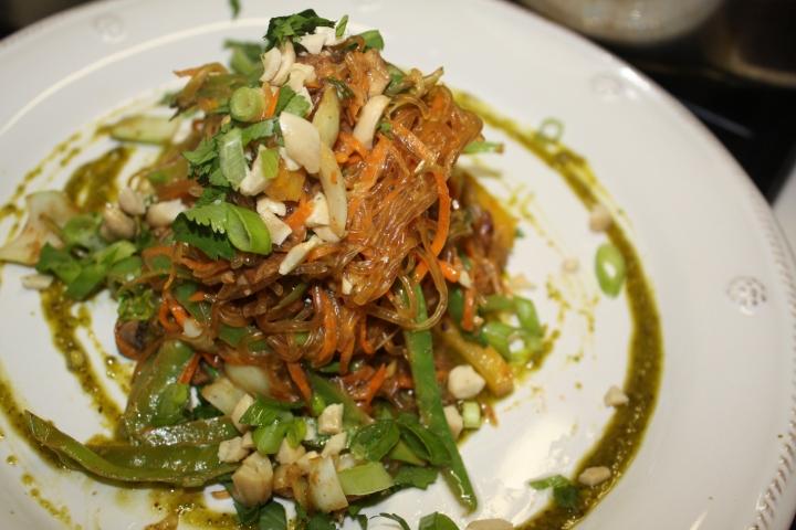 Thai Kelp NoodleStir-Fry
