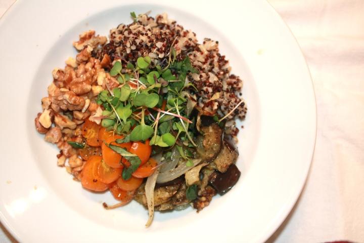 Eggplant Rice Bowl