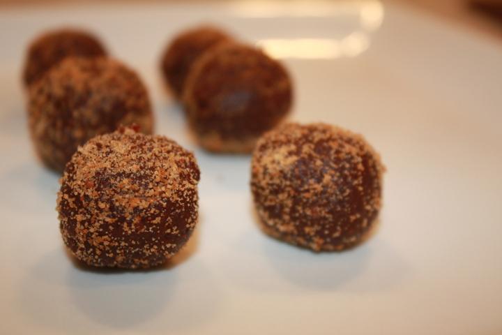Maca-Cacao Truffles