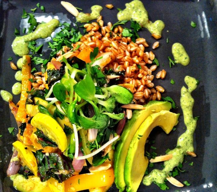 Summer Veggie FarroSalad